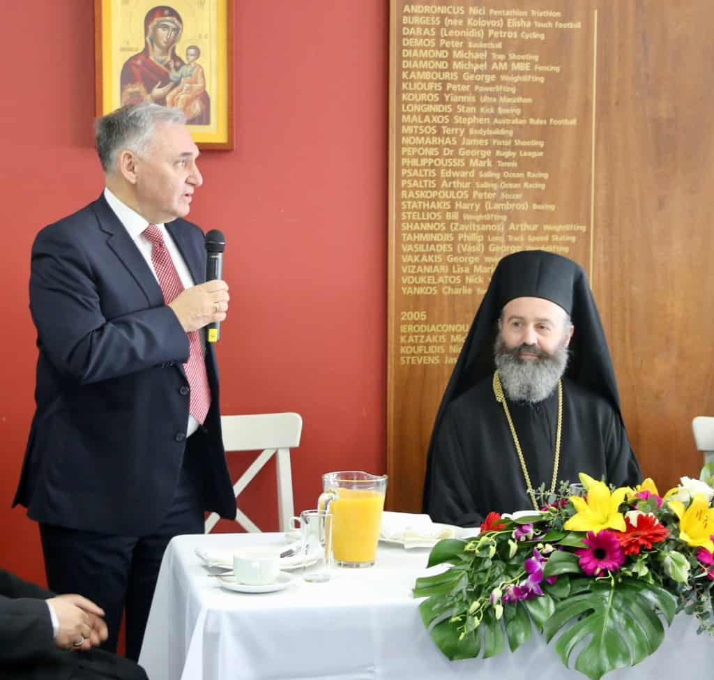 "Official Visit of His Eminence Archbishop Makarios to GWC Community Services: ""GWC and its members are a 'Workshop of Holiness'"""